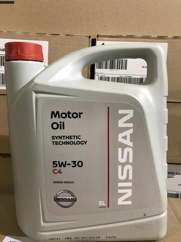 Nissan Motor Oil C4 (DPF) 5W-30 5/1L