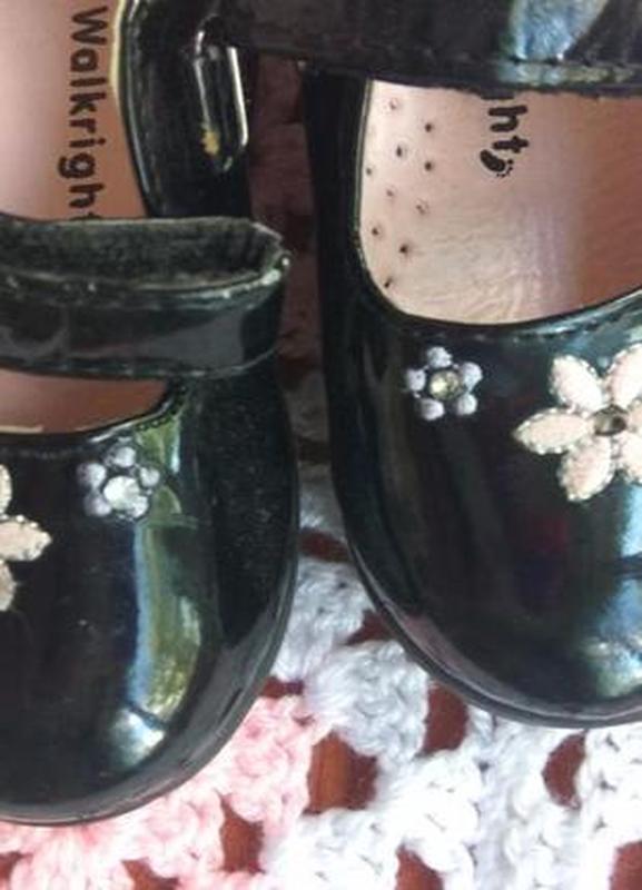 Красивые туфли на девочку 14 см по стельке warlkright - Фото 4