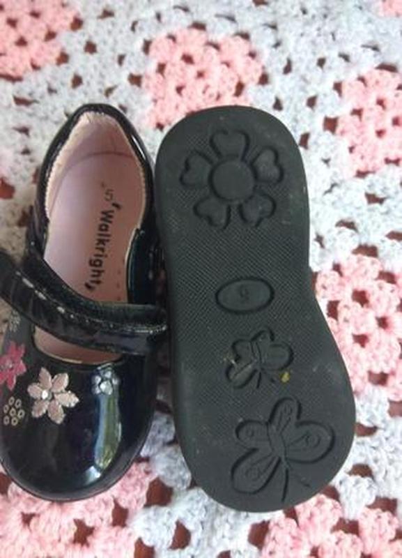 Красивые туфли на девочку 14 см по стельке warlkright - Фото 5
