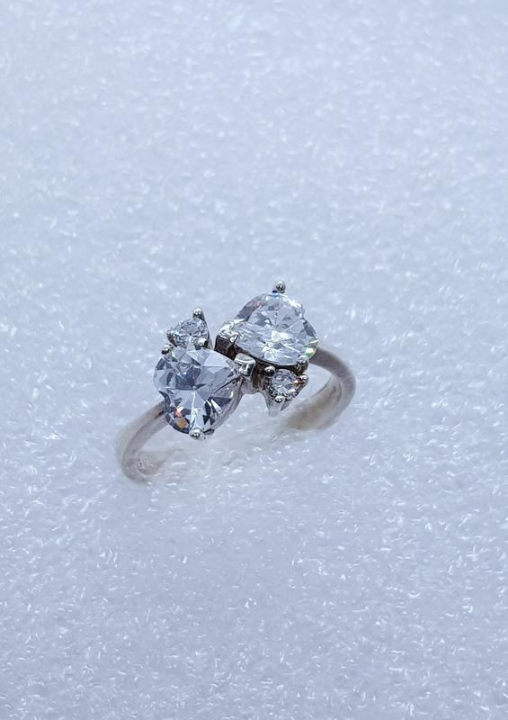 Серебряное кольцо 18 размер - Фото 2