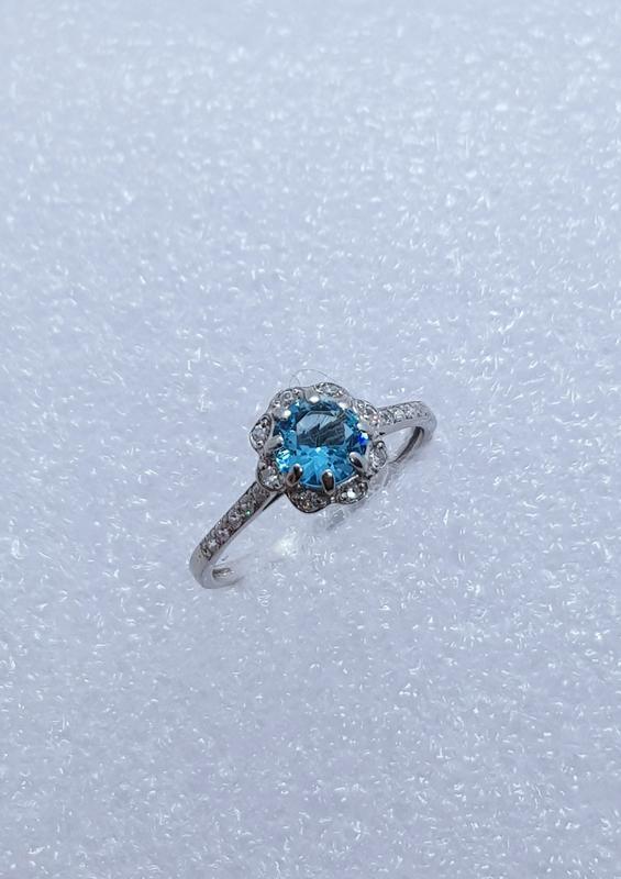 Серебряное кольцо 925 проба - Фото 2