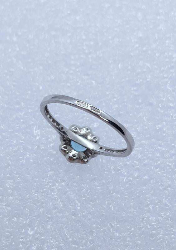 Серебряное кольцо 925 проба - Фото 4