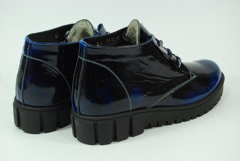 Женские зимние кожаные ботинки viva 37-38 - Фото 5