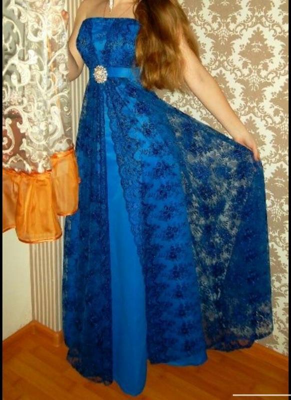 Вечернее выпускное платье - Фото 2