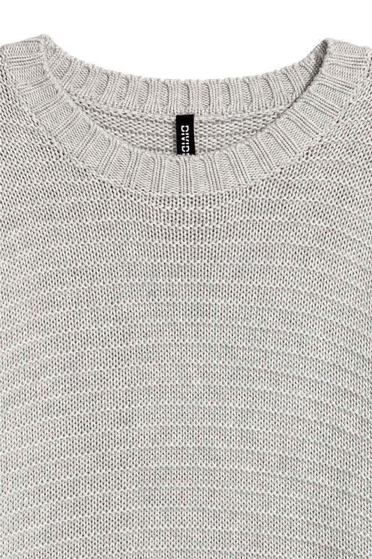Джемпер текстурной вязки h&m - Фото 4