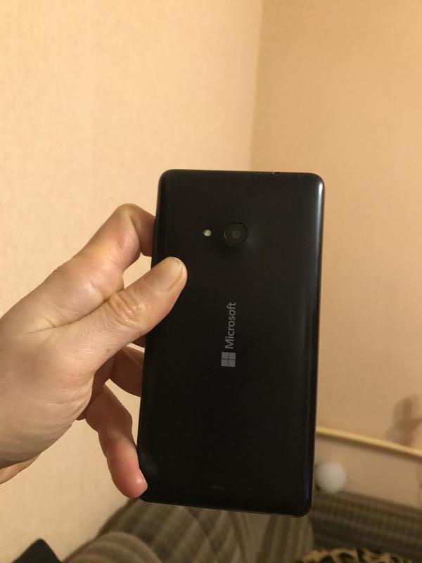 Смартфон Microsoft (Nokia) Lumia 535 Dual Sim Black - Фото 2