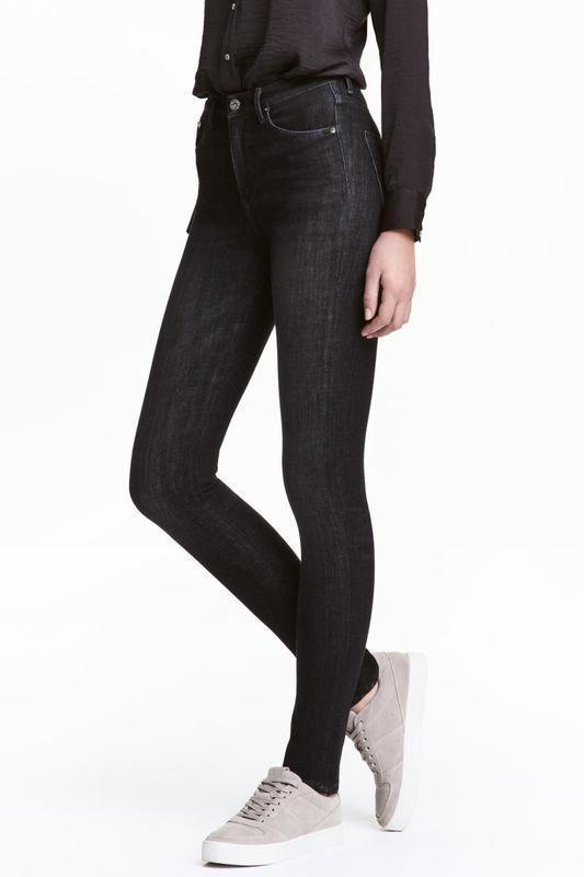 Джинсы 360° shaping skinny high jeans  h&m