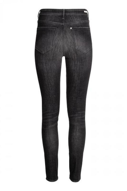 Джинсы 360° shaping skinny high jeans  h&m - Фото 3