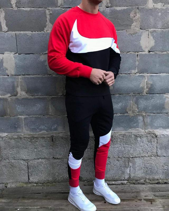 Спортивные костюмы Nike мужской. Теплый спортивный костюм.