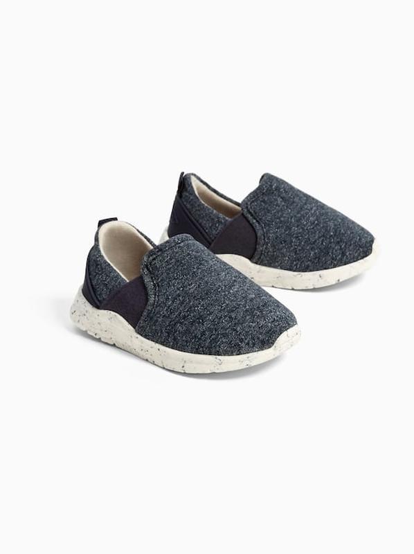 Кеды кроссовки ботиночки зара синие ультрамягкая подошва