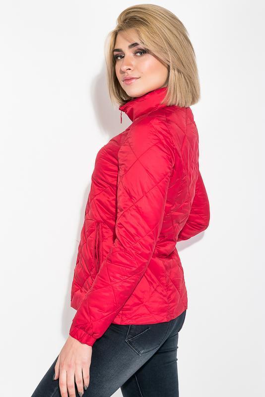 Куртка женская демисезонка 0008511 красный - Фото 2
