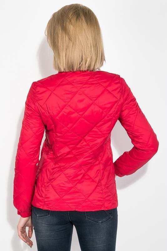 Куртка женская демисезонка 0008511 красный - Фото 3
