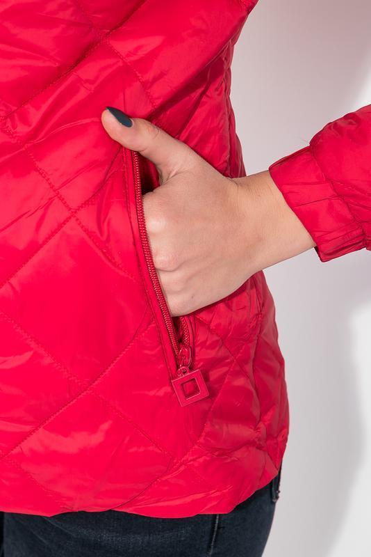 Куртка женская демисезонка 0008511 красный - Фото 5