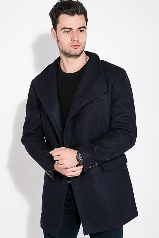 Пальто мужское классическое 0008494 черный пиджак