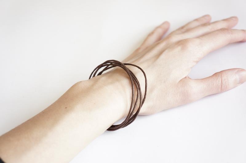 Браслет минимализм hand made - Фото 3