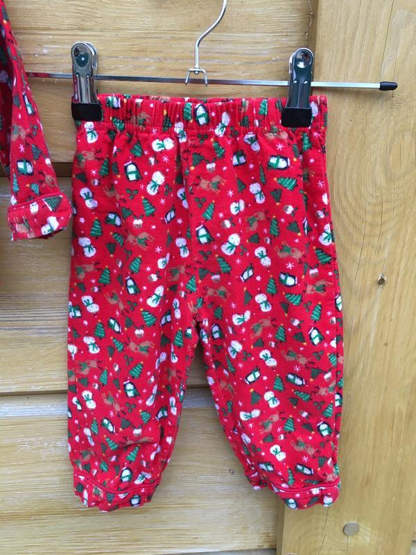 Новогодняя пижама на новый год,баевая пижама на байке,мягенька... - Фото 4