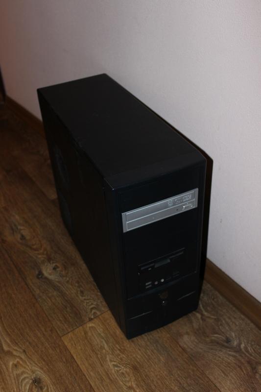 Робочий ПК: системний блок+монітор+клавіатура+мишка+акустика - Фото 2