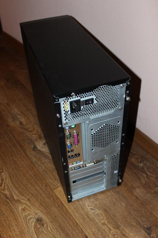 Робочий ПК: системний блок+монітор+клавіатура+мишка+акустика - Фото 3