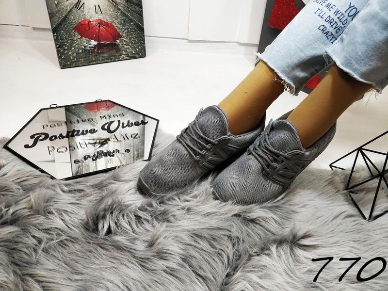 Стильные мягкие кроссовочки - Фото 3