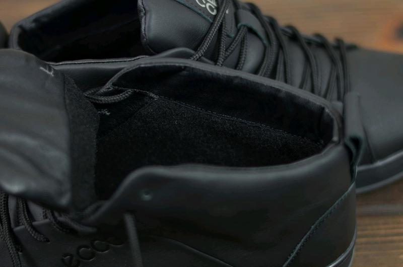 Мужские зимние кожаные ботинки - Фото 6