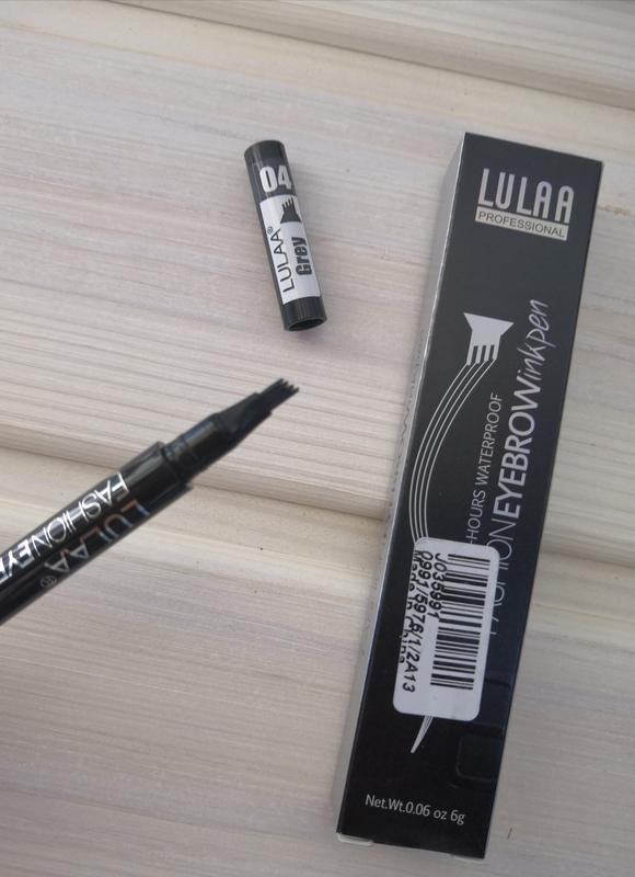 Маркер лайнер карандаш подводка тату для бровей lulaa разные тона - Фото 3