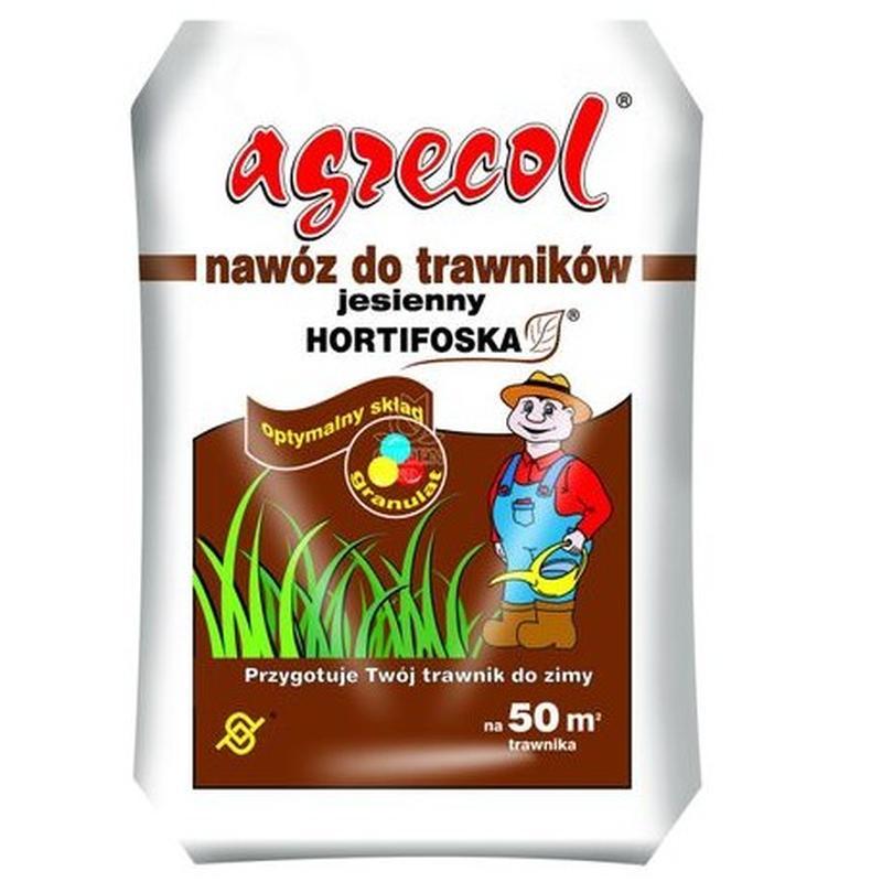 Удобрение Agrecol (Агрикол) хортифоска осеннее для газонов 25 кг