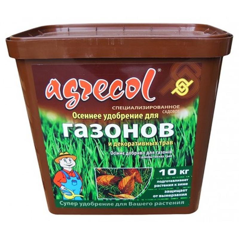 Удобрение Agrecol (Агрикол) осеннее для газонов 10 кг