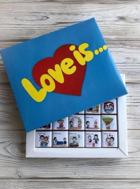 Шоколадні набори, Шоколадные наборы, лов из, love is, любимым,... - Фото 2