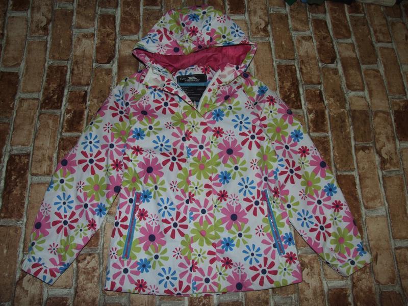 Куртка ветровка 9-10 лет trespass
