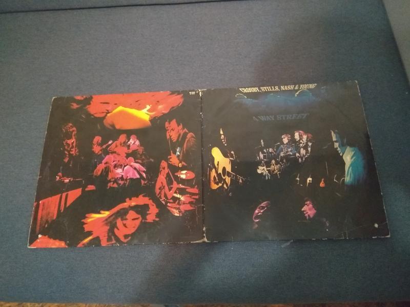 "Пластинка Crosby,Stills,Nash & Young""4 Way Street""LIVE 2LP"