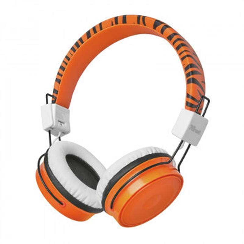 Наушники bluetooth для детей Trust COMI BT KIDS ORANGE