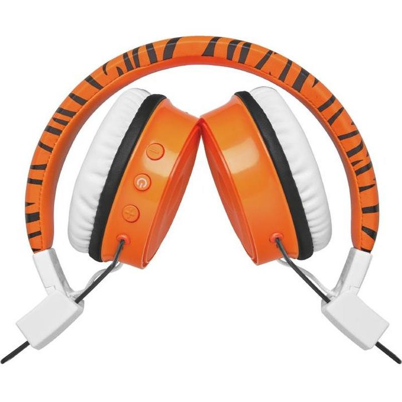 Наушники bluetooth для детей Trust COMI BT KIDS ORANGE - Фото 3