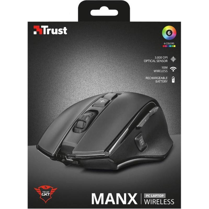 Мышка Trust GXT 140 Manx rechargeable wireless