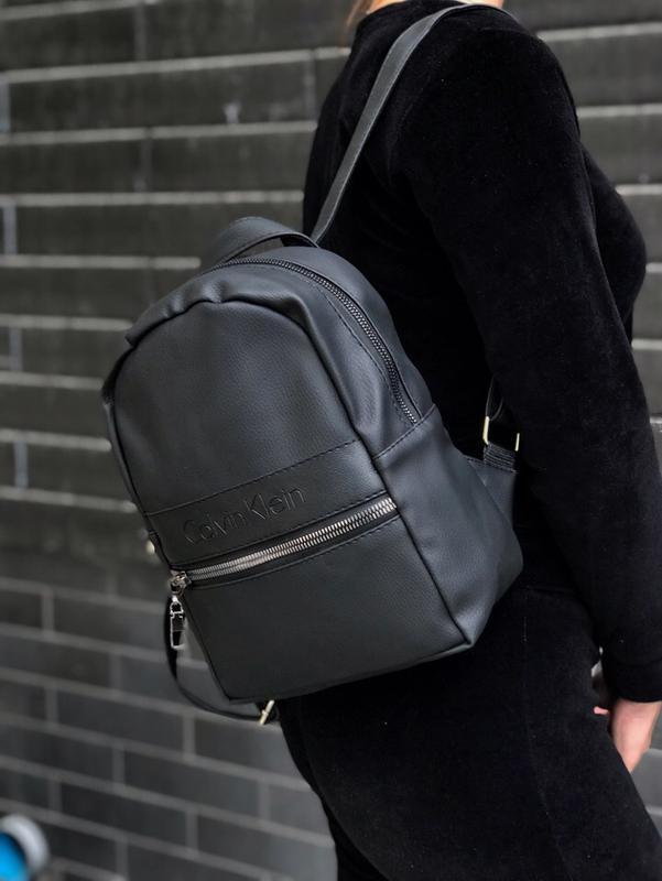 Женский черный рюкзак - Фото 2