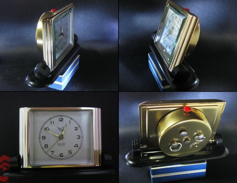 Часы будильник ПИОНЕР 1957 год 1 класс Исправные Отличное сост...