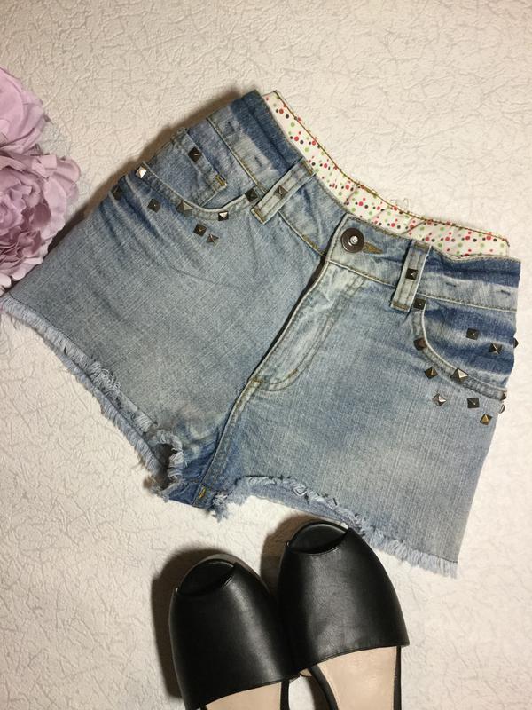 Шорты джинсовые denim co 10 размер