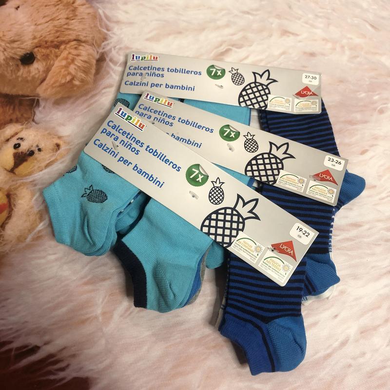 Носки спортик синие пальмы носки полосочка носки набор lupilu ...