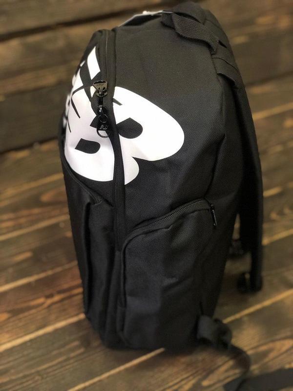 Рюкзак мужской/женский, цвет черный - Фото 2
