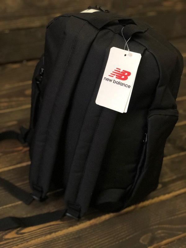 Рюкзак мужской/женский, цвет черный - Фото 6