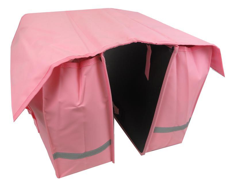 Велосумка на багажник, велоштаны 40 L Сrivit S061789 розовый