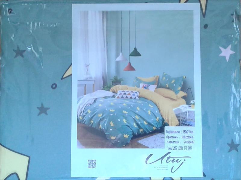 Детский постельный комплект полуторный, cатин, разные рисунки - Фото 2