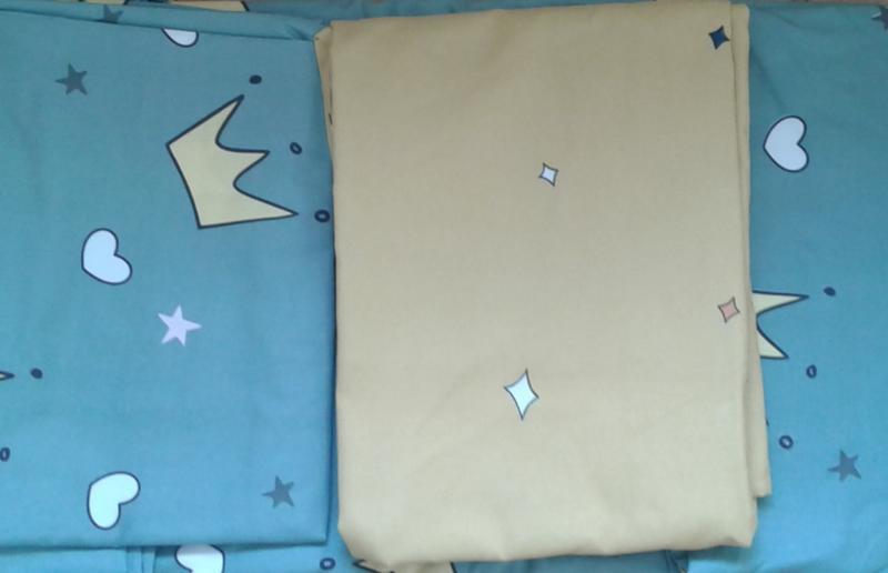 Детский постельный комплект полуторный, cатин, разные рисунки - Фото 3