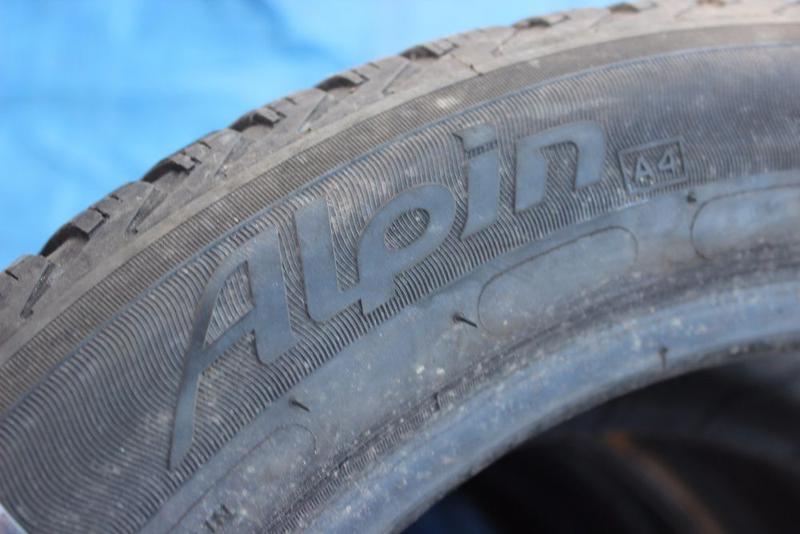 225-50\55-R17 MICHELIN ALPIN комплект зимние шины= GERMANY - Фото 4