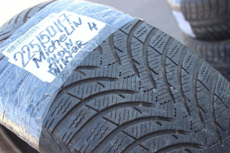 225-50\55-R17 MICHELIN ALPIN комплект зимние шины= GERMANY - Фото 5