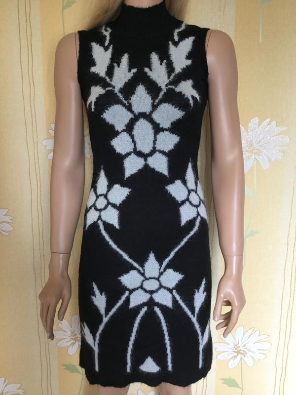 Платье трикотажное с кофтой болеро zab размер s