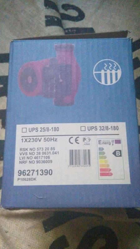 Циркуляционный насос Grundfos UPS 32-80 180 - Фото 2