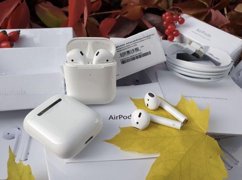 AirPods 2  Apple original Аирподс - Фото 4