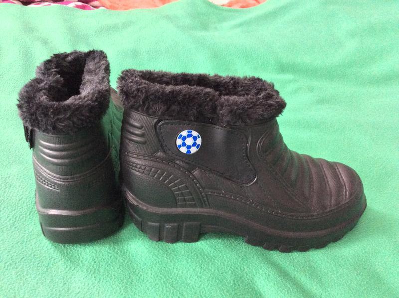Новые классные чёрные ботинки сапоги р.36 (стелька 22.5 см)