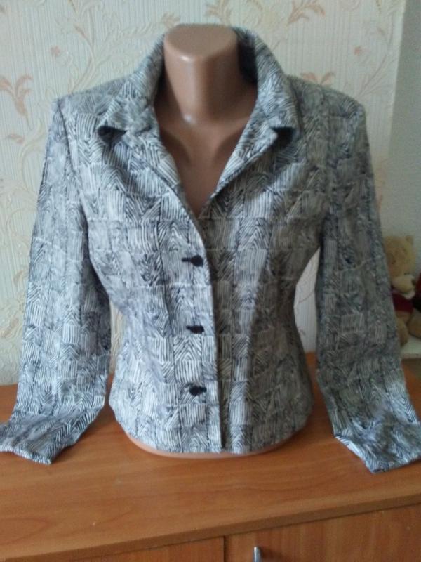 Шикарный легкий пиджачок филипины - Фото 2