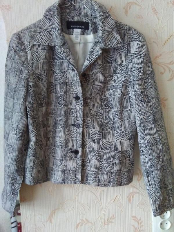 Шикарный легкий пиджачок филипины - Фото 3
